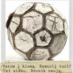 Beveik naujas kamuolys