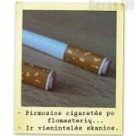 Cigaretes saldainiai