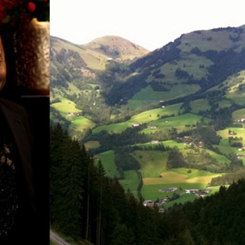 Haddaway ir Kitzbuhel miestelis Tirolio kalnuose