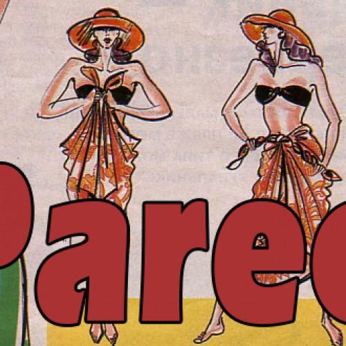 Pareo – 1992 metų vasaros mados hitas