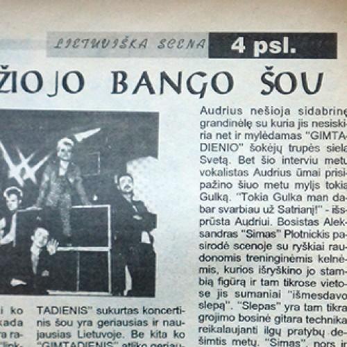 1993 metų Didžiojo Bango šou