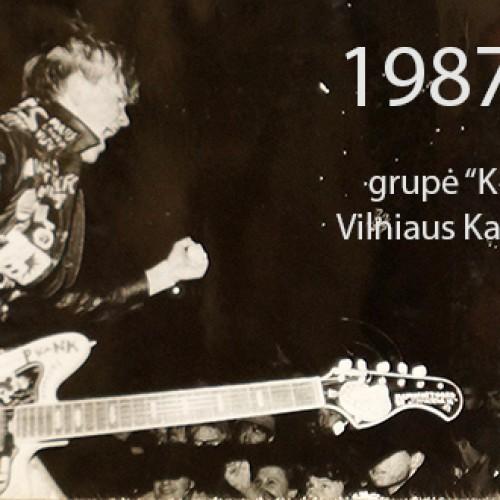 Kas 1993 metais koncertavo ant dviejų lentų?