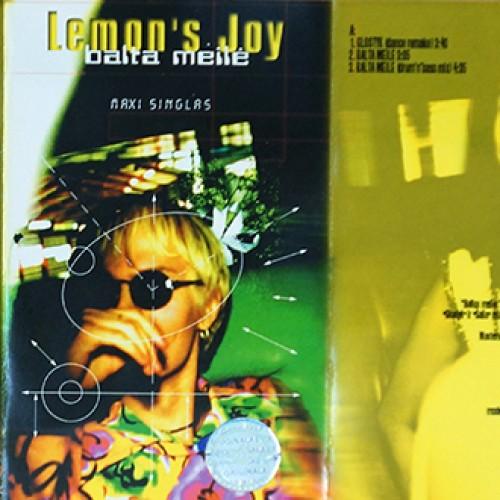 "1997 metų Lemon's Joy maxi singlas ""Balta meilė"""