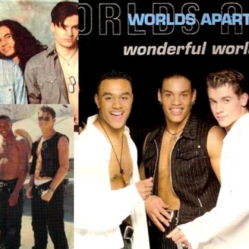 Kokiu principu buvo sukurta grupė Worlds Apart?