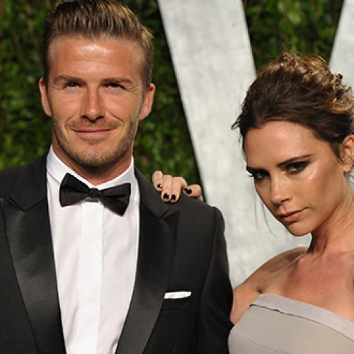 Victoria Adams ir Davidas Beckhamas