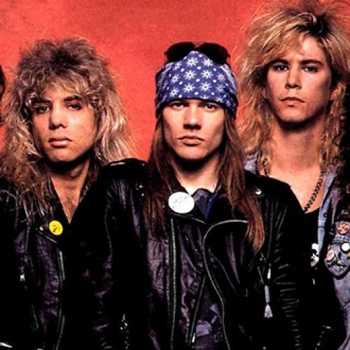 Guns'N'Roses – populiariausia devyniasdešimtųjų pradžios roko grupė