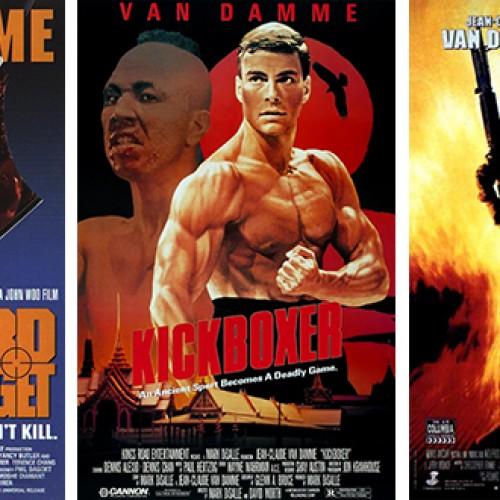 Veiksmo filmų žvaigždė Jean Claude Van Damme