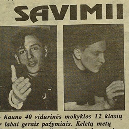 Ką 1992 metais veikė Andrius Rožickas