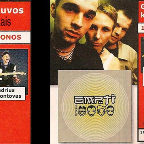 """Žurnalo """"Ausis"""" topai 1999 metais"""