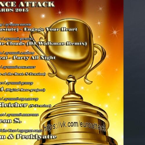 Rasa Kaušiūtė Eurodance Attack apdovanojimuose!