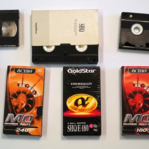 Prisiminimai apie VHS formatą