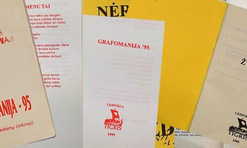 Dvi knygos iš 1995 metų