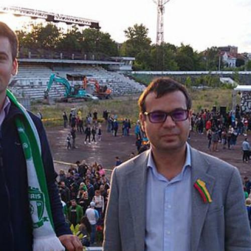 """Atsisveikinimas su Vilniaus """"Žalgirio"""" stadionu"""