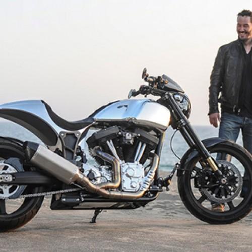 "Keanu Reeveso motociklas ""KRGT-1"""