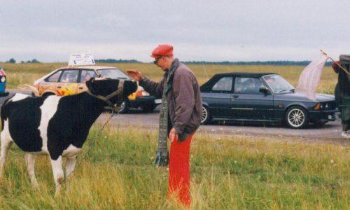 """""""Didžiosios lenktynės"""" 1995 metais"""