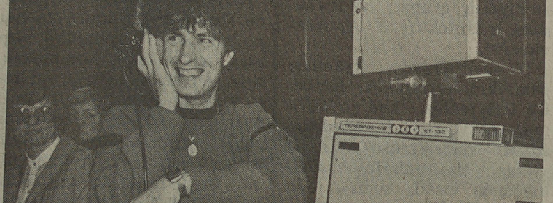 Ką Egidijus Sipavičius veikė 1986 metais