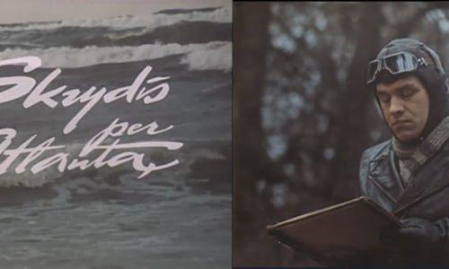 """Filmo """"Skrydis per Atlantą"""" vaizdo kasetė"""