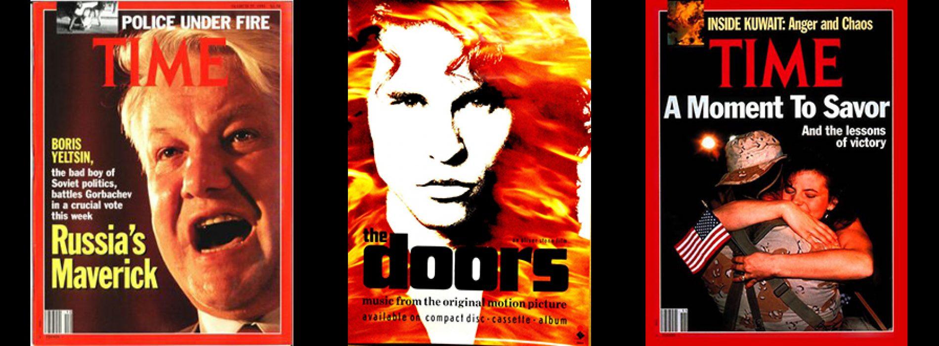 """Žurnalas """"Time"""" apie kino filmą """"The Doors"""""""