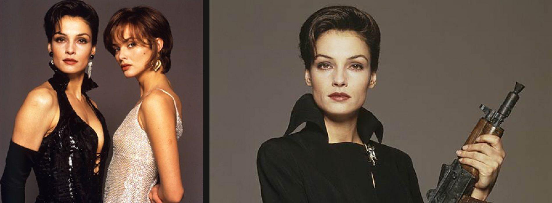Modernizuotas Jamesas Bondas ir jo merginos 1995 metais