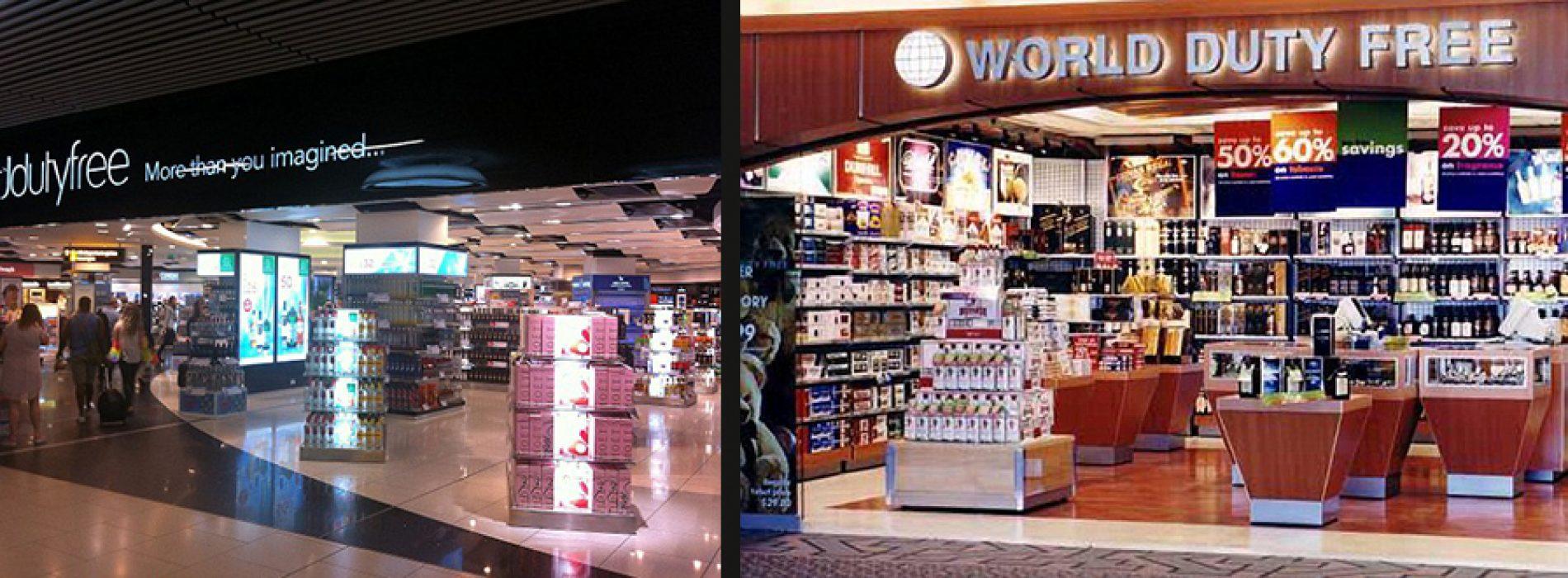 Oro uostai ir jų valiutinės parduotuvės